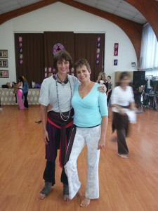 Tania brown belt